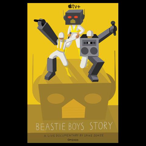 """√Beastie Boys Story """"Robot"""" von Beastie Boys - Poster jetzt im Beastie Boys Shop"""